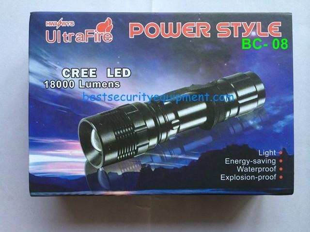 ไฟฉาย flashlight BC-8(1)