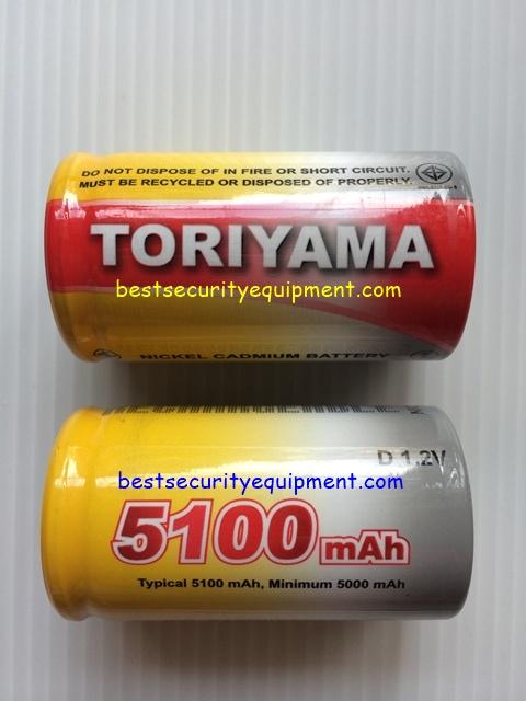 ถ่านชาร์จ TORIYAMA 5100