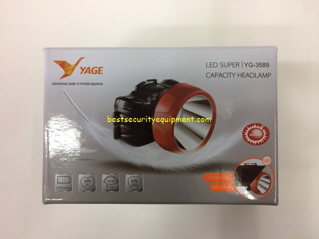 ไฟฉายคาดหัว YG-3589(1)