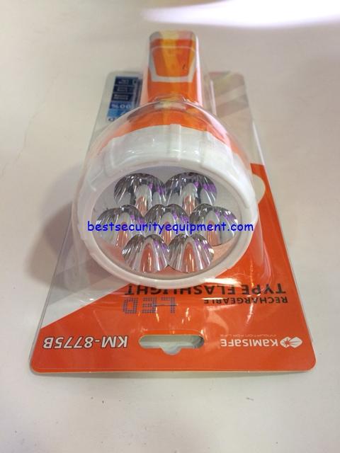 ไฟฉายชาร์จได้ KM-8775B(2)