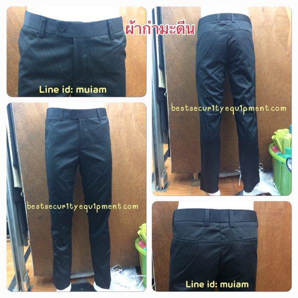 กางเกงผู้ชายขายาว สีดำ