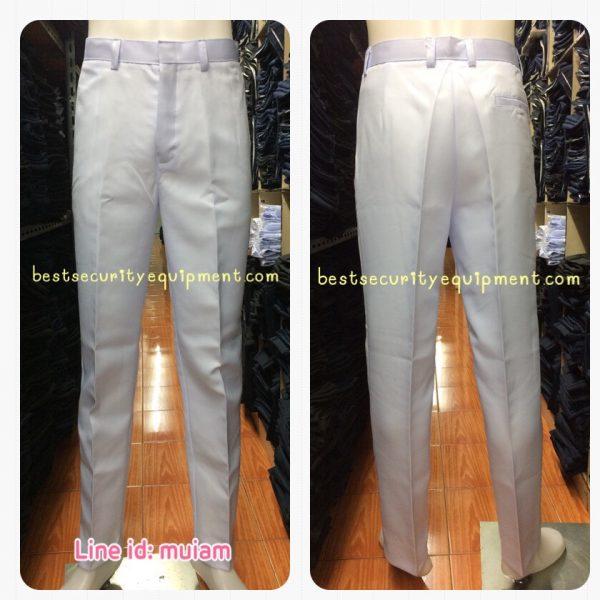 กางเกงสีขาว ผู้ชาย