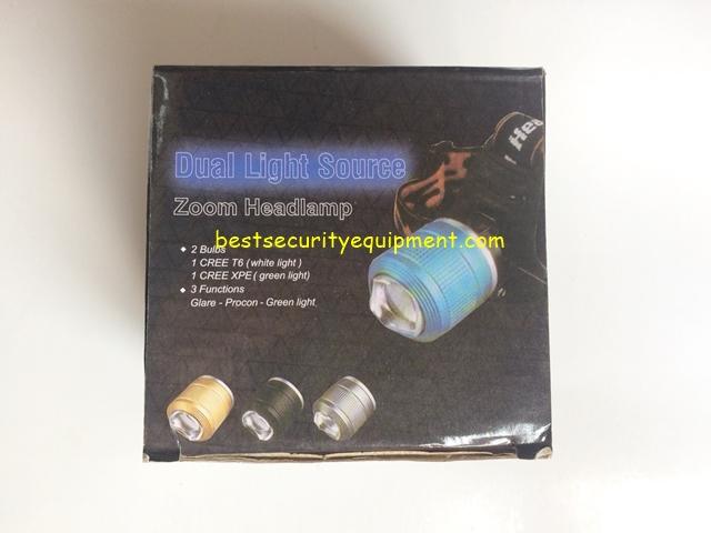 ไฟฉายคาดหัว Dual light source (1)