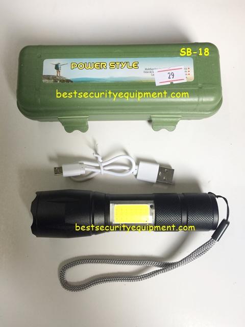 ไฟฉาย usb SB-18(2)