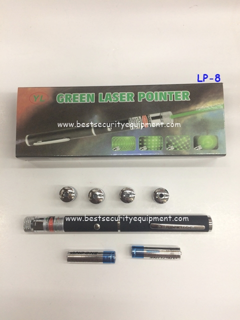 เลเซอร์พอยเตอร์ 4 หัว แสงเขียว(1)