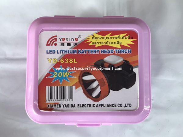 ไฟฉายคาดหัว YD-638L(1)